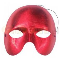 červená metalická škraboška phantom