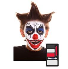 Make up Sada Devil Clown