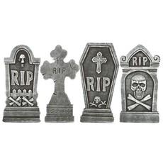 Sada náhrobků 4 ks