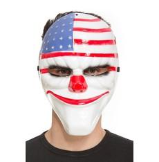 Obličejová maska Klaun