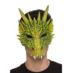 Obličejová maska Dračí lebka