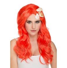 Paruka Mořská panna oranžová