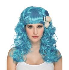 Paruka Mořská panna modrá