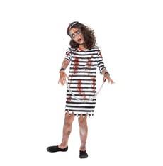 Dětský kostým  na Halloween Zombie vězeňkyně