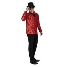 Kostým Sako červené