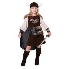 Dětský kostým Vikingská slečna