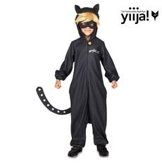 Dětský kostým Černý kocour Kouzelná beruška I
