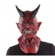 Maska s krkem Čert