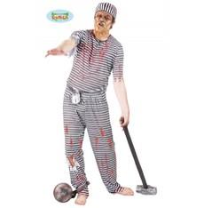 kostým halloween  zombie vězeň
